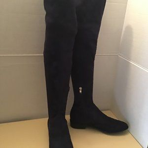 Marc Fisher Humor 2 blue over the knee boots 7.5
